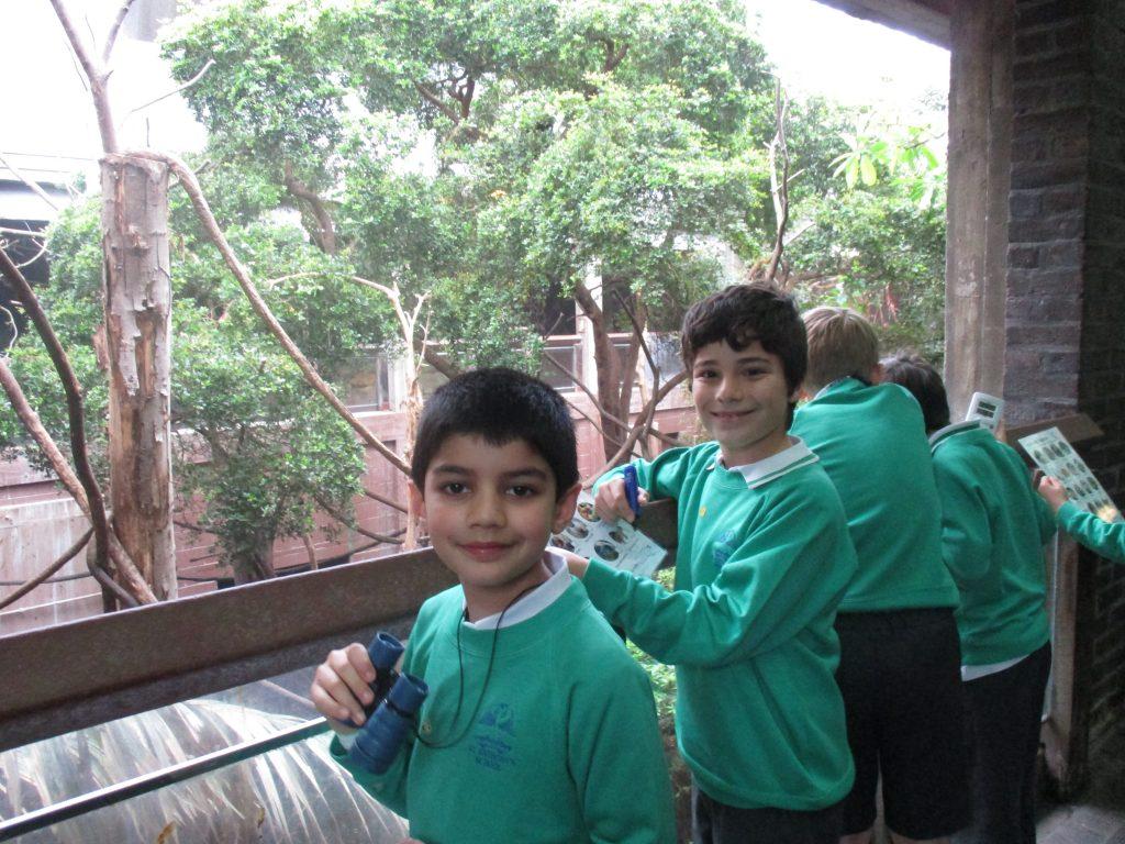 school zoo visit
